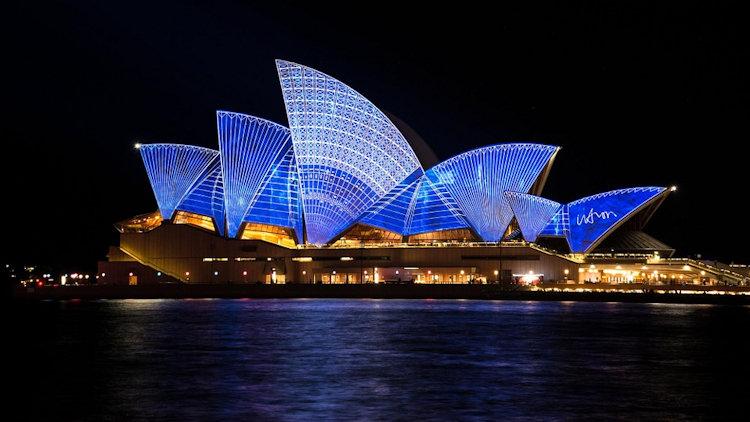 Sydney Opera night