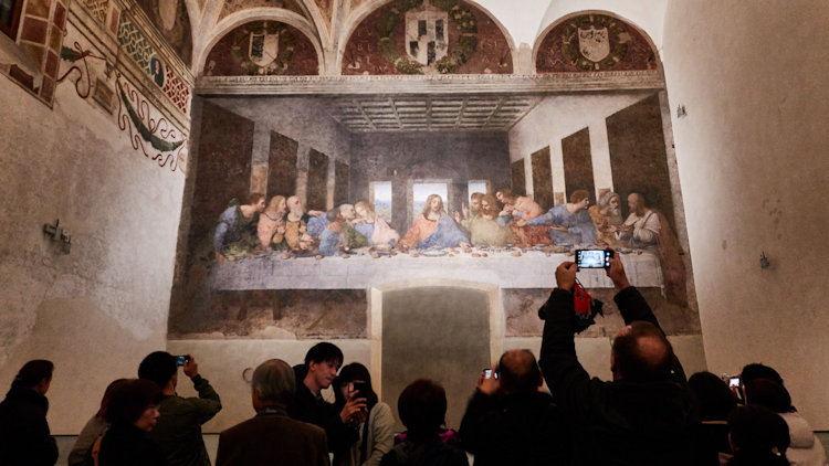 Milan Last Supper painting