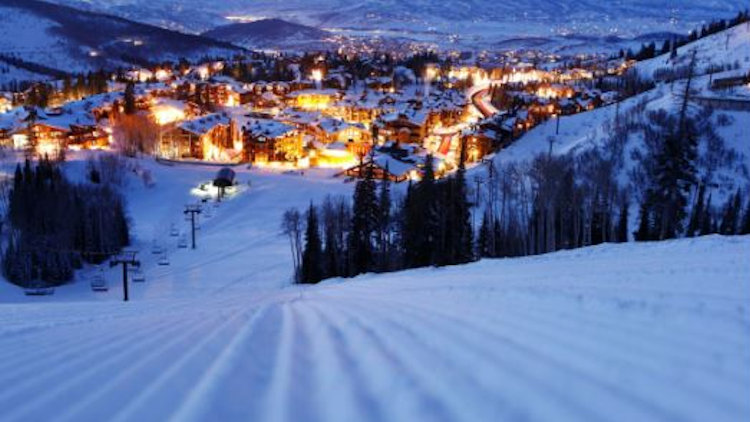 Park City night view