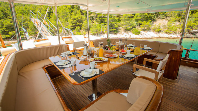 What It's Like Sailing Around Croatian Islands Aboard a Luxury Yacht