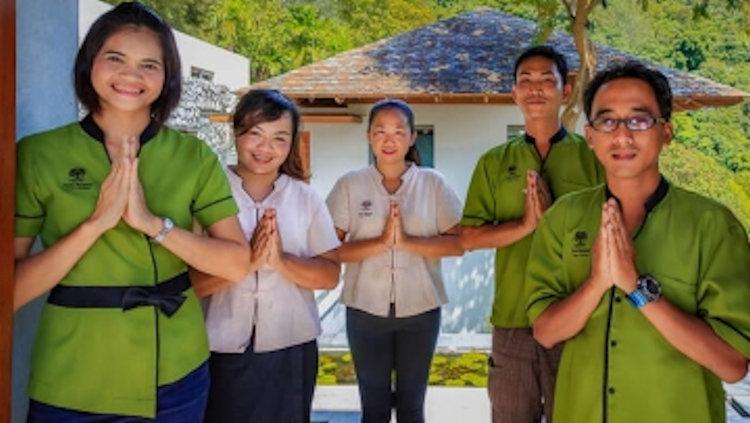 Phuket friendly staff