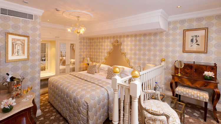 luxury london hotel suite
