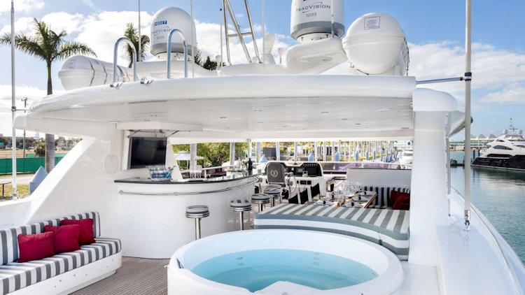 Julia Dorothy yacht deck