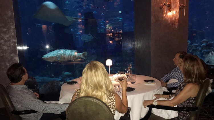 Linda Cooper in Dubai