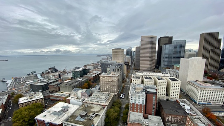 Smith Tower Observatory view