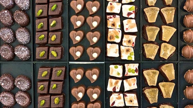 Basel Switzerland chocolates