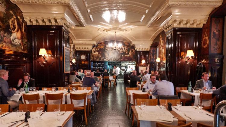 Basel Switzerland restaurant