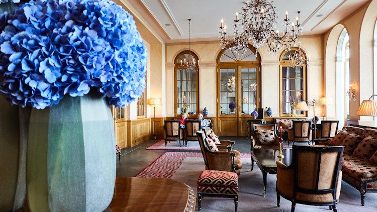 Basel Switzerland hotel lobby