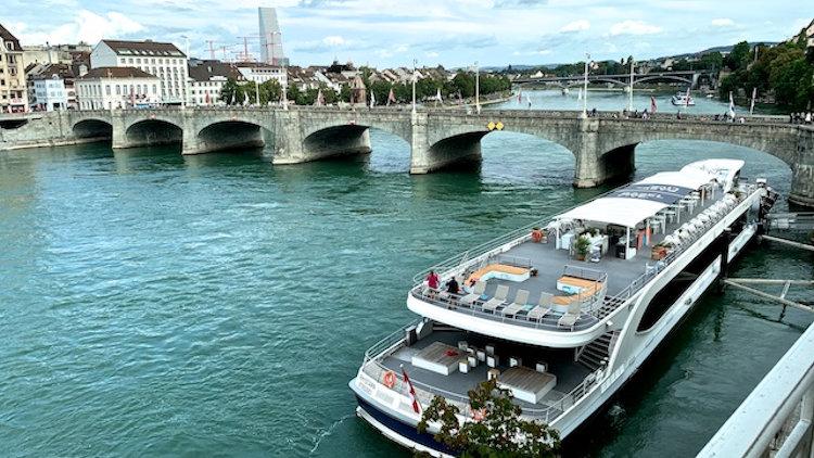 Basel Switzerland middle bridge