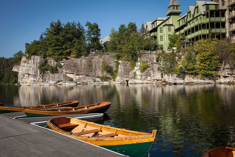 Mohonk canoes