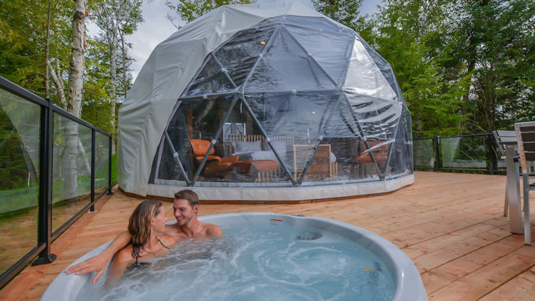 Bel Air Tremblant dome