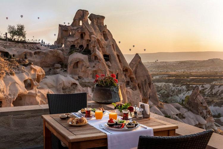 argos en Cappadoce, Turquie