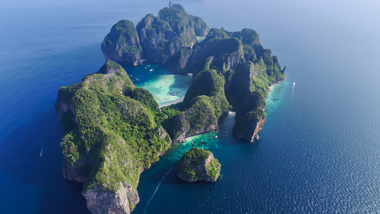 Thailand yachting islands
