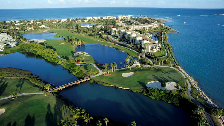 Sailfish Point golf course aerial