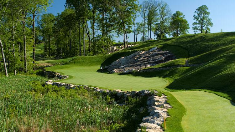 Pound Ridge Golfloch 15