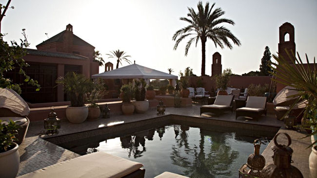 Royal Mansour outdoor pool
