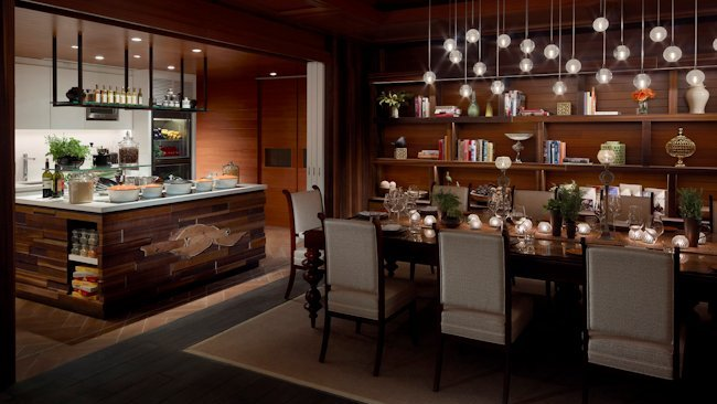 private dining room restaurant singapore | Shangri-La Hotel, Singapore Opens Waterfall Cafe for ...