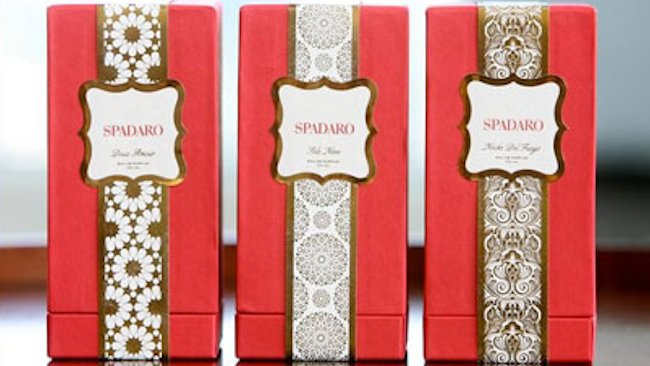 Spadaro fragrances luxury boxes