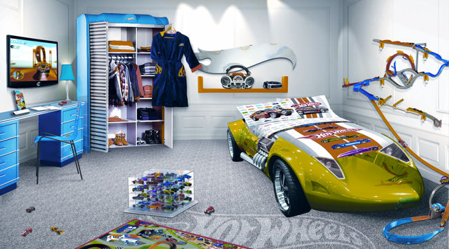 Hôtel Plaza Athénée Paris, Hot Wheels Room