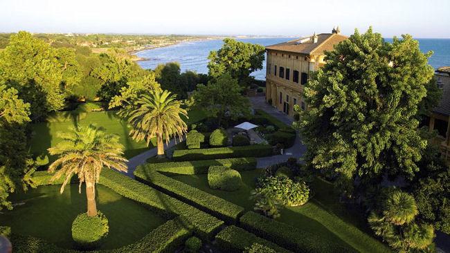 J paul getty 39 s italian villa opens as la posta vecchia hotel for La vecchia roma ristorante roma