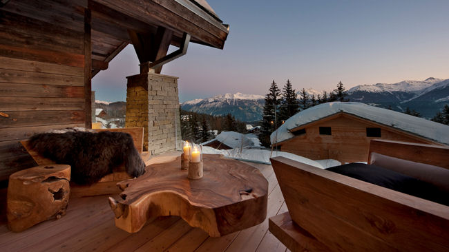 Opening Of Chalet Seven In Crans Montana Sets New