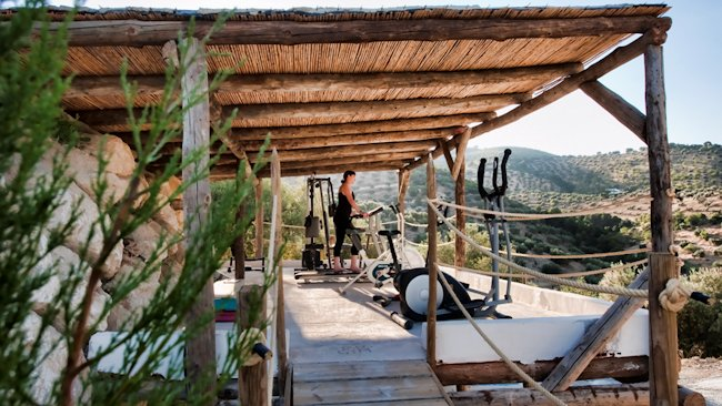 Cortijo Bujio outdoor gym