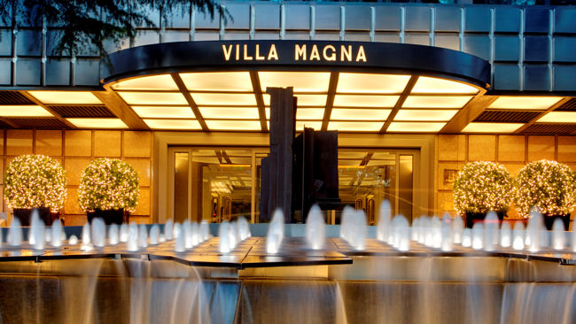 Madrid 39 S Hotel Villa Magna Offers Royal Suite Private
