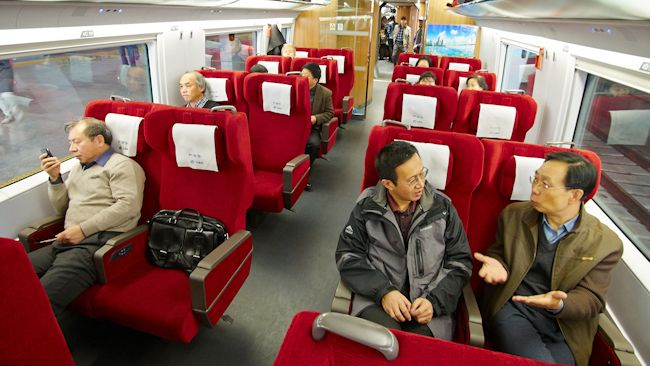 Travel Boom: China Opens Three New Express Trains For 2013