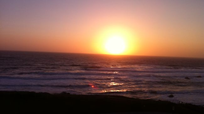 Ritz-Carlton Half Moon Bay sunset