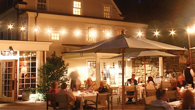 Richard Gere's Bedford Post Inn Announces Re-Opening of Summer Patio Dining