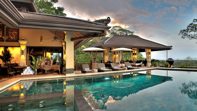 Mead brown costa rica offers 12 000 luxury balinese for Costa rica villas to rent