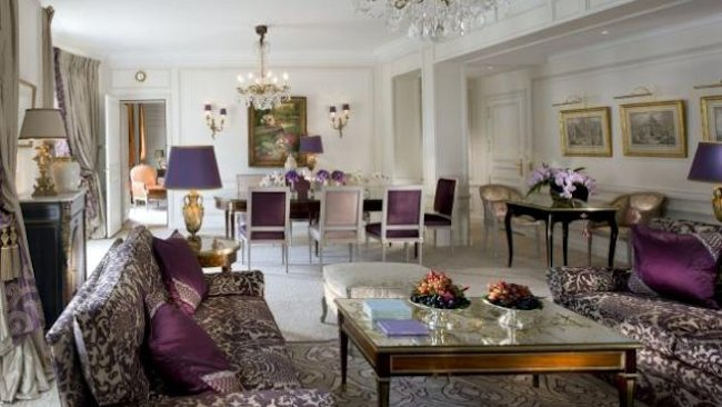 Inside Paris Most Expensive Hotel Suite At Hotel Plaza