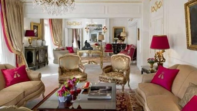Inside Paris 39 Most Expensive Hotel Suite At Hotel Plaza