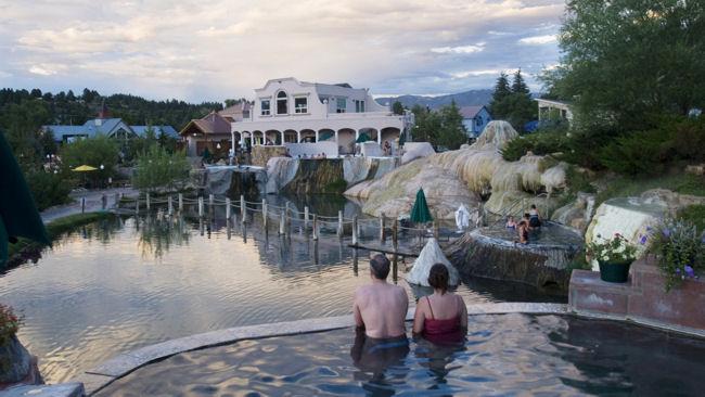 Colorado Pagosa Hot Springs