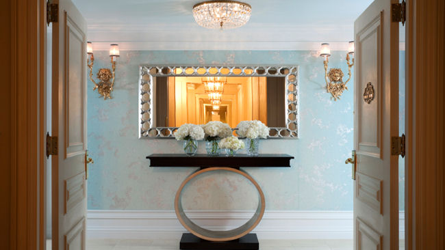 St Regis Tiffany Suite entry way